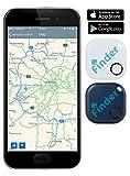 musegear Schlüsselfinder (dunkelblau) | Einfach per kostenloser App (iPhone & Android) alles wiederfinden | Ultimatives Handy Gadget als Schlüsselanhänger oder Auto-Zubehör Accessoire - 2