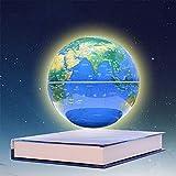 XHHWZB 6 '' Magnetschwebebahn Floating Globe Anti Schwerkraft Rotierende Weltkarte mit LED-Licht für Kinder Pädagogisches Geschenk Home Office Schreibtisch Dekoration