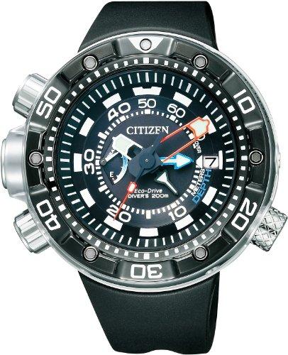 Citizen BN2024-05E-Uhr, Gummi-Armband Schwarz