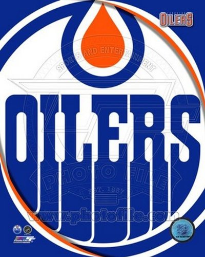 The Poster Corp Edmonton Oilers 2011 Team Logo Photo Print (40,64 x 50,80 cm) - Edmonton Oilers Team Logo Poster