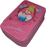 Astuccio 3 Zip Originale CENERENTOLA - CINDERELLA - Disney Princess - Completo di 46 Pezzi