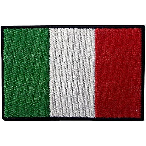 Italia Bandiera Ricamata Applique Ferro A Cucire