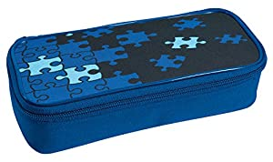 Eberhard Faber GmbH - Eberhard Faber 577525 - schlamperbox Puzzle, 21 x 6 x 9,5 cm, Azul