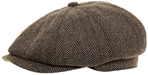 mens-baker-boy-fashion-cap-in-4-colour-choices-60cm-grey-herringbone