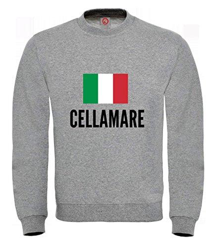 Felpa Cellamare city Gray