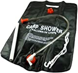 Portable Solar Shower - 20 Litre Camping Hiking Hot Water Shower