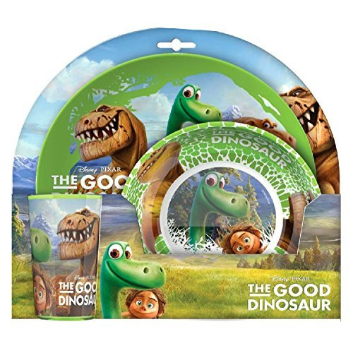 Official Licensed Disney The Good Dinosaur Ensemble d'alimentation
