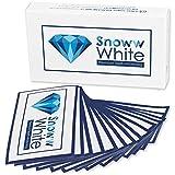 Bleaching White Stripes - Weiße Zähne In 14 Tagen - Zahnschonende Zahnaufhellung - Zweifacher Testsieger - 28 Bleaching Strips
