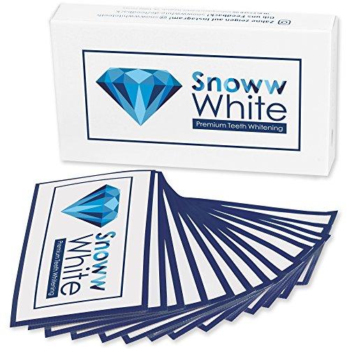 [ Zweifacher Testsieger ] Zahnaufhellung White Stripes - Weiße Zähne In Wenigen Tagen - Zahnschonende Whitestrips - 28 Bleaching Strips - Teeth Whitening - Zähne Schnell Aufhellen - Zahnbleaching