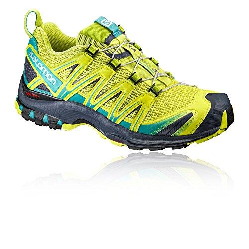Salomon XA Pro 3D W Damen Traillaufschuhe gelb / türkis