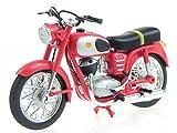 Pannonia 250 rot DDR Ostalgie Motorrad Modell 109 Atlas 1:24