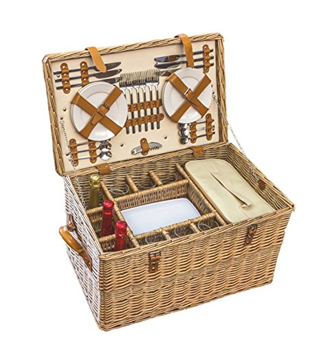 Red Hamper Bentley Fitted Picnic Basket