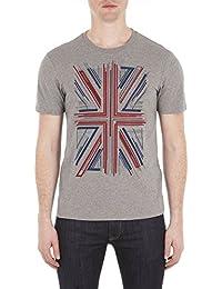 Ben Sherman homme - T-shirt manches courtes gris Ben Sherman MB13441 - Taille - S