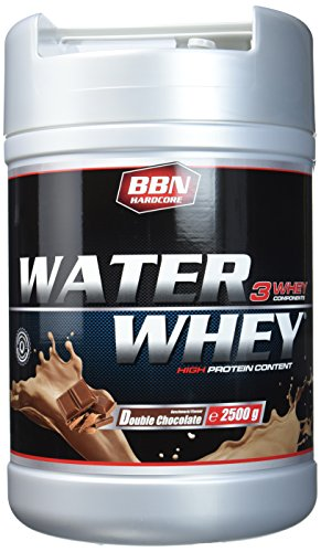 BBN Hardcore Water Whey Protein Double Chocolate, 1er Pack (1 x 2.5 kg) -