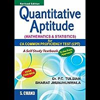 Quantitative Aptitude (Mathematics & Statistics) (For CPT)