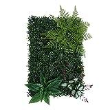 MagiDeal Künstliches Gras- DIY Miniatur Rasen, Garten Verzierung, 8-Stil Auswählbar - Grünes B