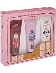 Crème Mains Kit Luckyfine-Hydratant Nourrissant Réparatrice Protectrice Antidessèchement à Peaux Abimées et Desséchées...