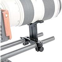 NICEYRIG Long Lens Altura de Apoyo Ajustable con Abrazadera DE 15 mm
