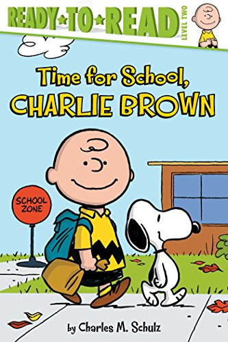 Time For School Charlie Brown Peanuts