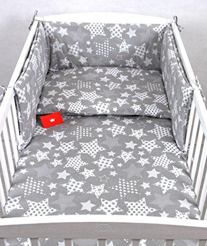BABYLUX Bettwäsche Bezug 2 Tlg. 100 x 135 cm Kinderbettwäsche Bettwäsche Bettset Babybettwäsche (96. Sternbild) -