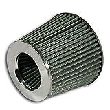 JOM Car Parts & Car Hifi GmbH JOM 40321 Power- Filter, silber mit 60, 70, 76, 84 und 90mm Anschluss