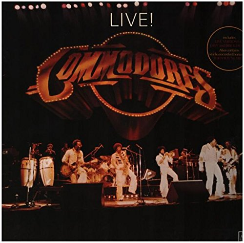 Live [Vinyl LP] (Commodores Vinyl)