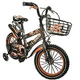 Zerimar Bicicletas Infantiles para niños y niñas| Bici con ruedines y Cesta| Bici niño | Bicicleta niños...