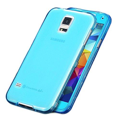 Handy Tasche Hülle Touch Case Cover Schutzhülle Smartphone Schutz Etui Schale , Farben:Blau, Handy Modelle für:Apple iPhone 6 (4.7) Blau