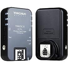 Yongnuo YN-568EX II - Completo set de flash para Canon+, con disparador remoto YN-622C, con control remoto YN-622C-T y difusor Tarion