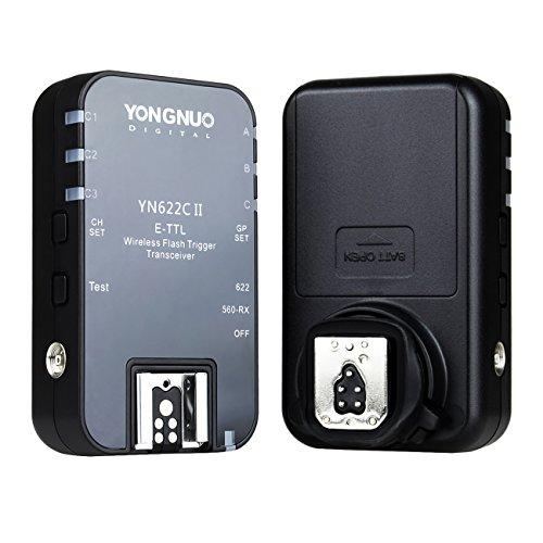 Yongnuo YN-622C II E-TTL télécommande déclencheur de Flash sans fil à vitesse syn. 1/8000s pour tout les Canon DSLR + Diffuseur