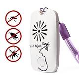 LUWANZ Repellente ad Ultrasuoni per Topi Zanzare Scarafaggi Pulci Mosche Formiche Ragni, Non Tossico, Inodore, Ecologico