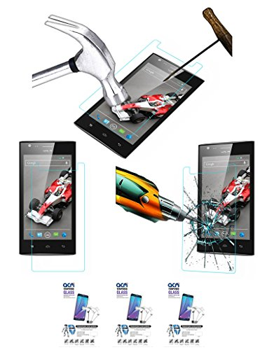 Acm Pack Of 3 Tempered Glass Screenguard For Xolo A600 Mobile Screen Guard Scratch Protector  available at amazon for Rs.279