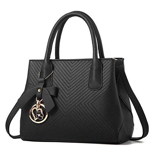 LAIDAYE Ms. Schulter Messenger Handtasche 1