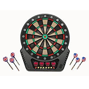 Dartspiel elektronisch mit 4 LED Displays