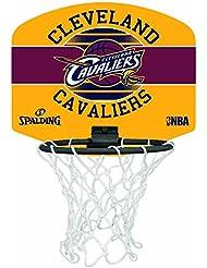 Spalding Nba Cleveland Cavs Panier + Ballon Mixte Enfant, Multicolore
