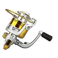 LZH Rouleaux de rotation 12BB 5.5: 1 Bobine de pêche à l'eau douce à spin