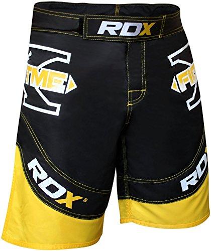 RDX MMA Pantalones Boxeo Corto Entrenamiento UFC Shorts Muay Thai Running Fitness
