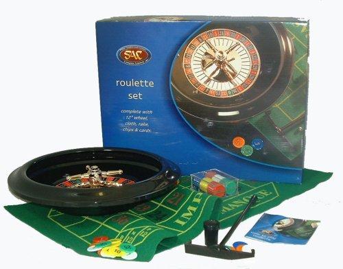The Traditional Games Co Ltd Ruleta Juego con Rueda de 12