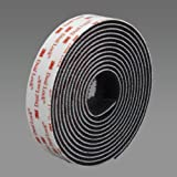3M Deutschland 355025BL 3550 - Banda de velcro (25,4 mm x 2,5 m), color negro
