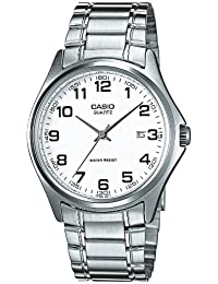 Casio  MTP-1183PA-7B - Reloj de cuarzo para hombre, con correa de acero inoxidable, color plateado