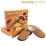 Zapatillas Relax Gel Slippers - Marrón, S