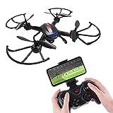Holy Stone FPV F181W RC Drohne mit 720P HD Kamera,rc Helikopter Quadrocopter ferngesteuert mit Kamera live übertragung,APP Steuerung, automatische Höhenhalter für Anfänger und Kinder
