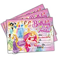 Princess Birthday Party Thank You Notes Childrens Girls Kids x 20 A5