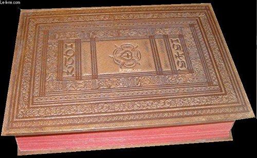 Die Bibel oder die ganze Heilige Schrift, deutsch von Martin Luther. Nach der Ausgabe von 1545 bearbeitet und mit dem Bilderschmuck des in der Preuß. Staatsbibliothek befindlichen Pergamentexemplars der Ausgabe von 1541, das von Lucas Cranach für ...