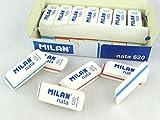 Caisse 20élastiques Crème Milan 620biseautée rebite Sandwich Blanc