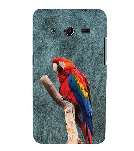 YuBingo Samsung Galaxy Core 2 G355H :: Samsung Galaxy Core Ii :: Samsung Galaxy Core 2 Dual Designer Phone Back Case Cover ( The Parakeet )  available at amazon for Rs.549