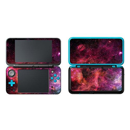 uushop Vinyl Schützende Haut Aufkleber Cover Wrap für Neue Nintendo 2DS XL/LL Galaxy Nebel 14
