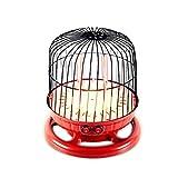 YJSY Raumheizung, 800W Tragbarer Vogelkäfig-Elektroherd, 2-Gang-Thermostat, Multidirektionale Heizung, Dunkler Augenschutz, Persönliche Heizung, Geeignet Für Büro-Familien-Schlafsaal