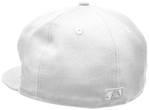 New Era MLB Basic NY Yankees 59Fifty Fitted - Casquette De Baseball - Homme Blanc (White)