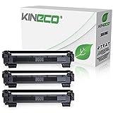 3 Toner kompatibel zu Brother TN1050 TN-1050 für Brother DCP-1512, HL-1112, DCP-1510, HL-1110 R, MFC-1810, MFC-1815 - Schwarz je 1.500 Seiten